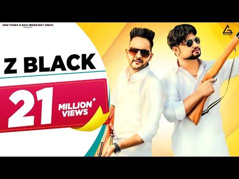 Z BLACK - Lyrical Video || MD KD || Ghanu Music || Divya Jangid || New Haryanvi Songs Haryanavi 2019
