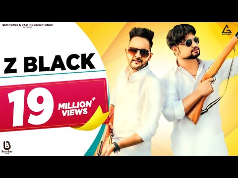 Z BLACK - Lyrical Video || MD KD || Ghanu Music || Divya Jangid || New Haryanvi Songs Haryanavi 2019
