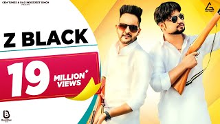 Z BLACK - Lyrical  || MD KD || Ghanu Music || Divya Jangid || New Haryanvi Songs Haryanavi 2019