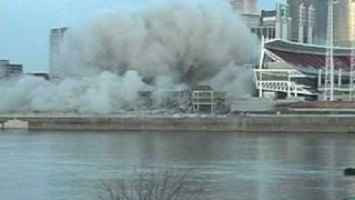 Riverfront Stadium Cinergy Field Demolition