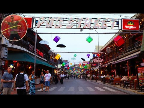 HOW IS SIEM REAP IN CAMBODIA LIKE? PARTY OR FAMILY TOWN - Ep 151
