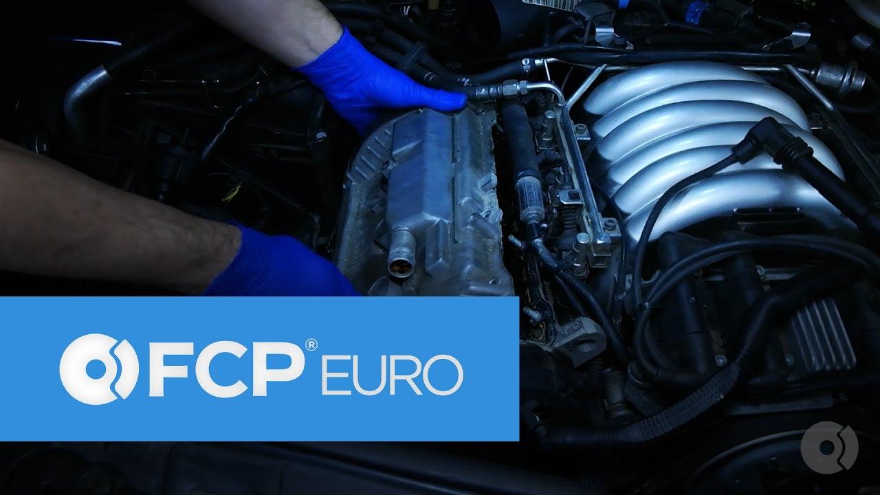 Vw Passat 28l Valve Cover Gasket Replacement A4 A6 B5 98 Audi 2 8 12v Engine Diagram Youtube