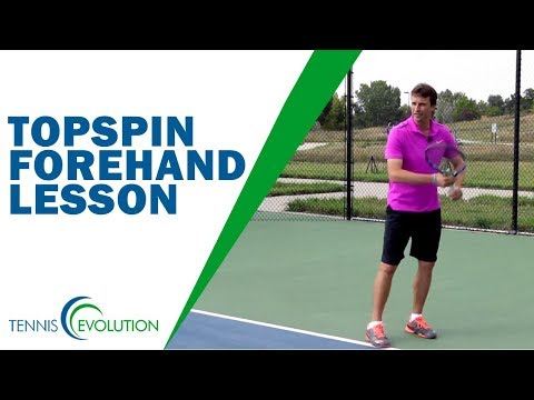 How To Hit Amazing Topspin Forehand | TENNIS FOREHAND