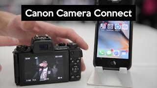 Canon Camera Connect App | transfer photos wireless and control your camera