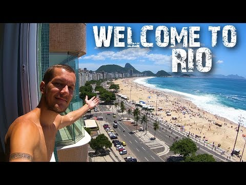 RIO BEACH LIFE! COPACABANA & LEBLON (BRAZIL)