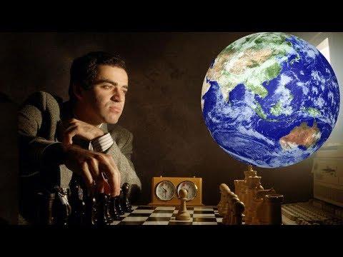 Шахматы. Гарри Каспаров - Сборная Мира. ТИТАНИЧЕСКАЯ БИТВА на стыке тысячелетий!