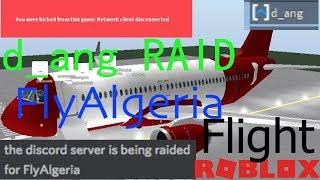 d_ang RAID | FlyAlgeria Flight | ROBLOX - Cape Town Airport