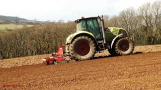 Cultivations with Three Tractors.