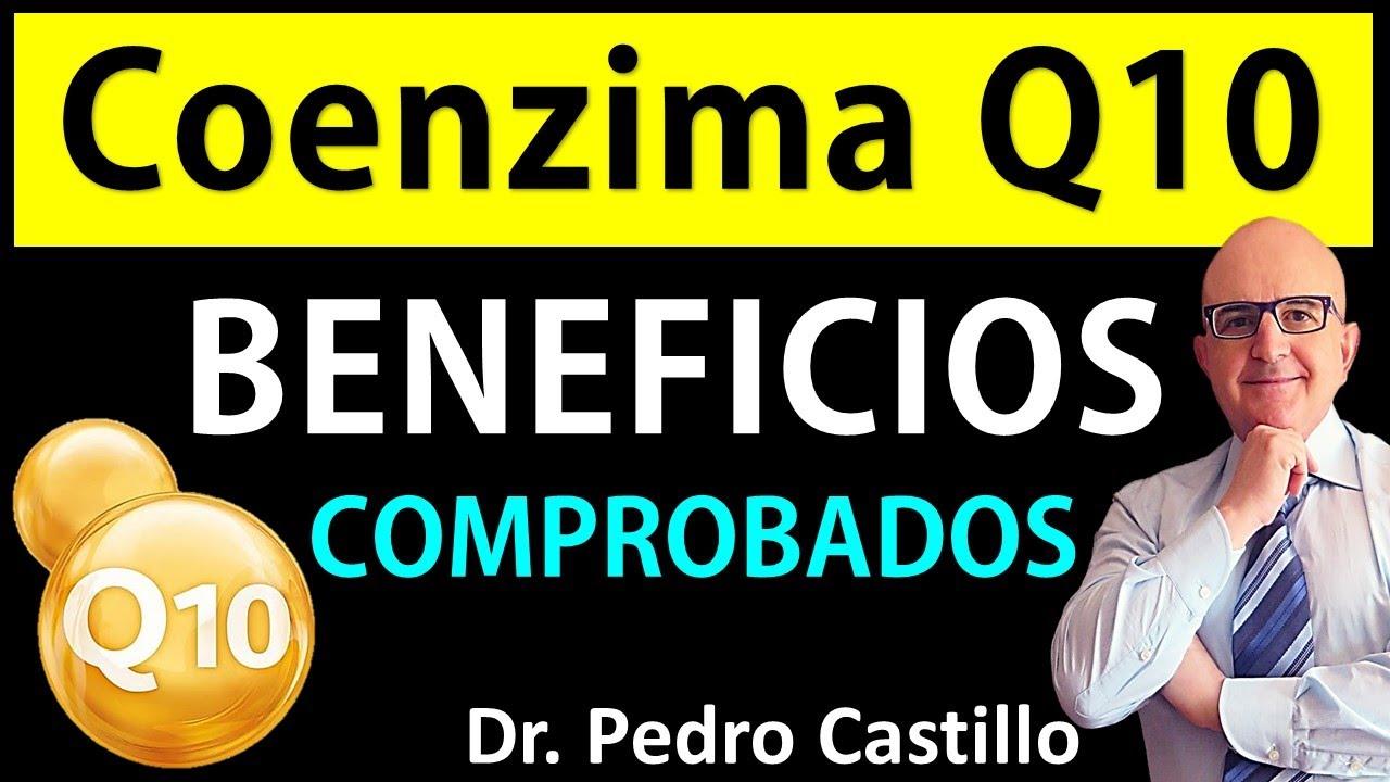 COENZIMA Q10 BENEFICIOS comprobados del MEJOR SUPLEMENTO para la SALUD - DR PEDRO CASTILLO