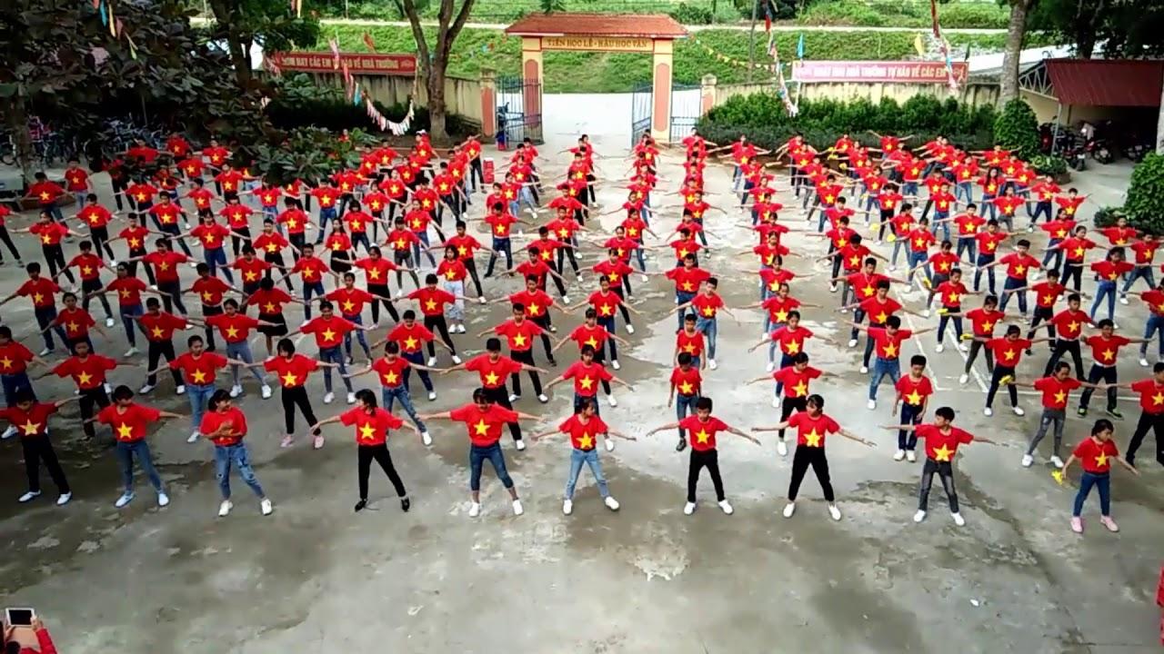 Ước mơ ngày khai trường || Múa hát sân trường đẹp
