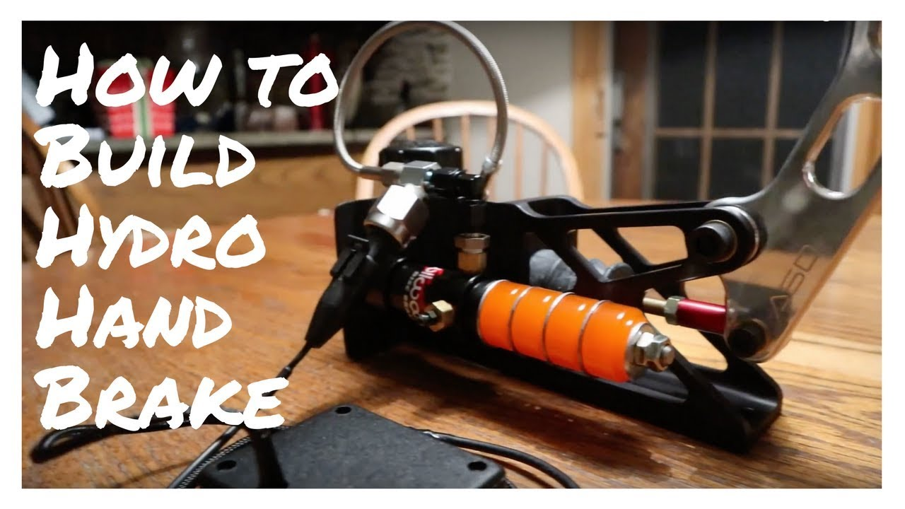 How To Build Real USB Hydraulic Handbrake - Sim Racing