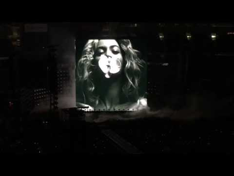 Beyonce - Formation Tour Intro - San Diego, CA - May 12, 2016