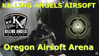 OREGON AIRSOFT ARENA gameplay footage | 31 JAN 2015