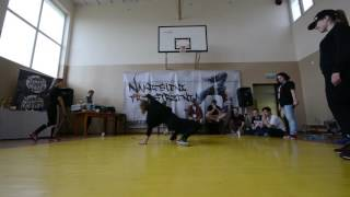 Bgirl Battle 1vs1 / Julson vs Marika vs Natia