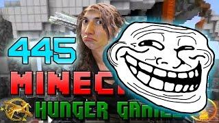 Minecraft: Hunger Games w/Mitch! Game 445 - BAJANCANADIAN GETS TROLLED!