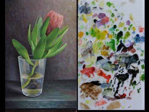 Birlikte yağlı boya resim yapma serisinin ilk videosu. Yağlı boya resim yapma uygulamaları paylaştım