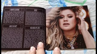 Unboxing Cd Kelly Clarkson - Meaning of Life