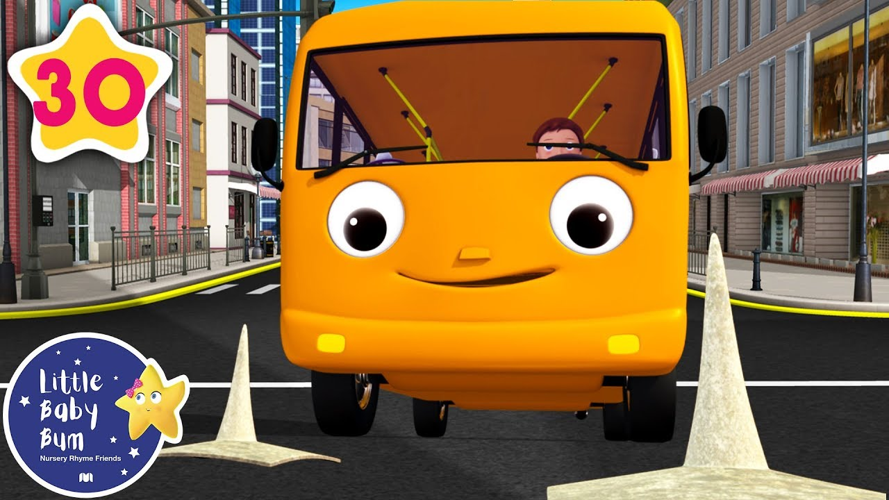 Educational Videos for Toddlers | Wheels on The Bus V5 | Nursery Rhymes | Little Baby Bum