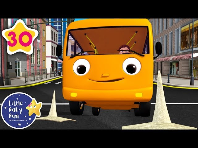 Educational Videos for Toddlers   Wheels on The Bus V5   Nursery Rhymes   Little Baby Bum