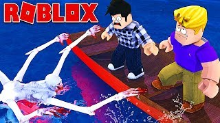 DON'T GO IN THIS CAMPING! Roblox Sailing!