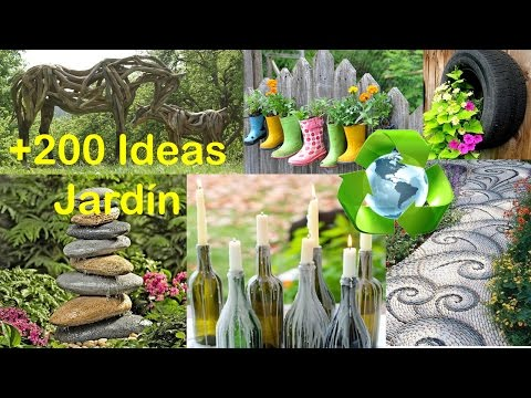 Reciclado para Decorar Jardín IDEAS / Recycling for Garden IDEAS