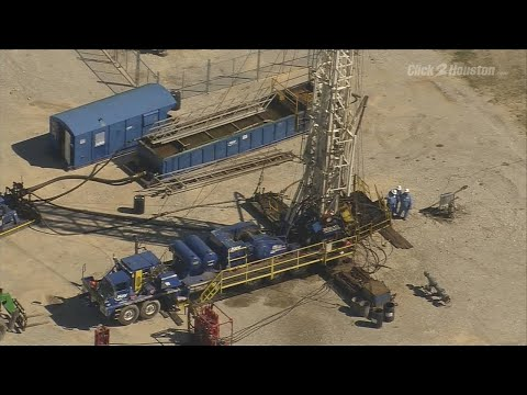 Raw video: Worker killed at Brazoria County oil field