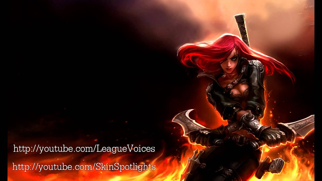 katarina voice chinese league of legends youtube. Black Bedroom Furniture Sets. Home Design Ideas
