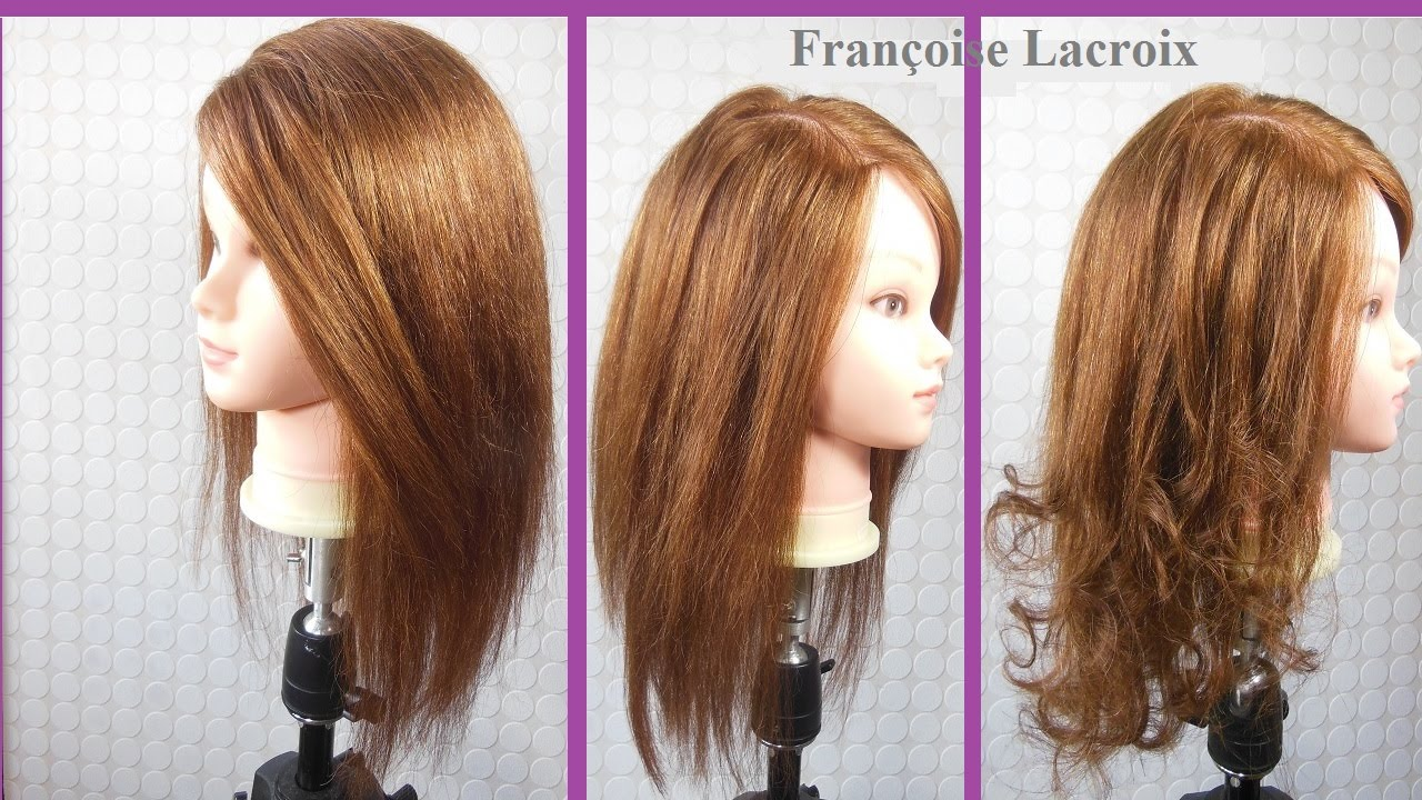 coupe longue dgrade long layered haircut corte de pelo largo en capas