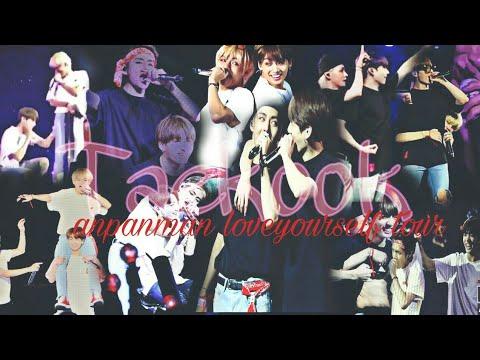 Taekook/ vkook anpanman moments ~ loveyourself tour