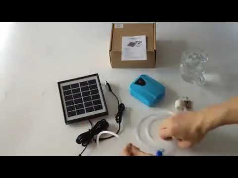 Solar Powered Oxygenator Water Oxygen Pump
