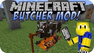 Minecraft TIERE SCHLACHTEN (BUTCHER MOD)