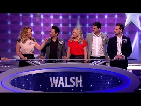 Kimberley Walsh - [HD] Family Fortunes - ITV 5 Jan 14