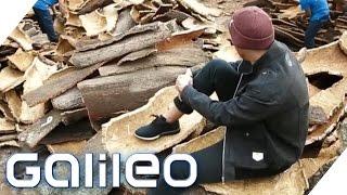 Ein Baumstamm als Kleidung? Diese Jacke besteht aus Kork | Galileo | ProSieben