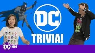 DC Trivia Challenge! | DC Kids Show