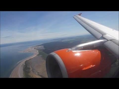 EasyJet Airbus A319-111 | London Luton to Inverness *Full Flight*