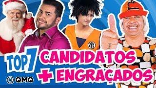 Candidatos mais Engraçados das Eleições de 2018 | Top 7 | QMQ S03E66