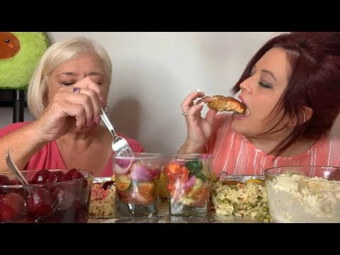Cook And Eat With Me And Momma Sauce!! Stay Till The End (HILARIOUS) 💋