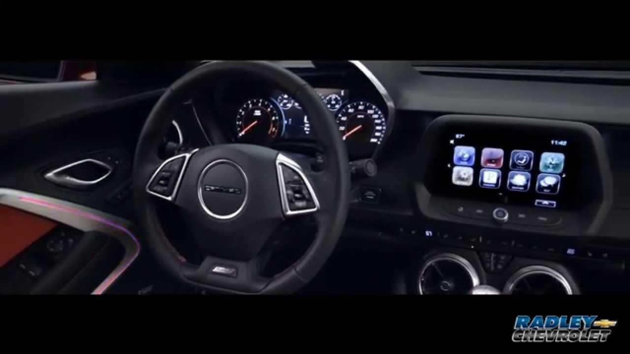 2017 Chevrolet Camaro Cockpit Fredericksburg Va Dealer