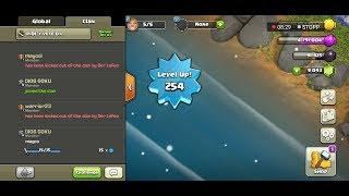 Town hall 9 Level 254 | Lets play clash of clans | req and leave clan| Pide Y Vete D.L | req n leave