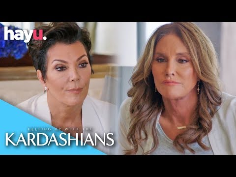 Kris Jenner Meets Caitlyn Jenner For The First Time | Keeping Up With The Kardashians