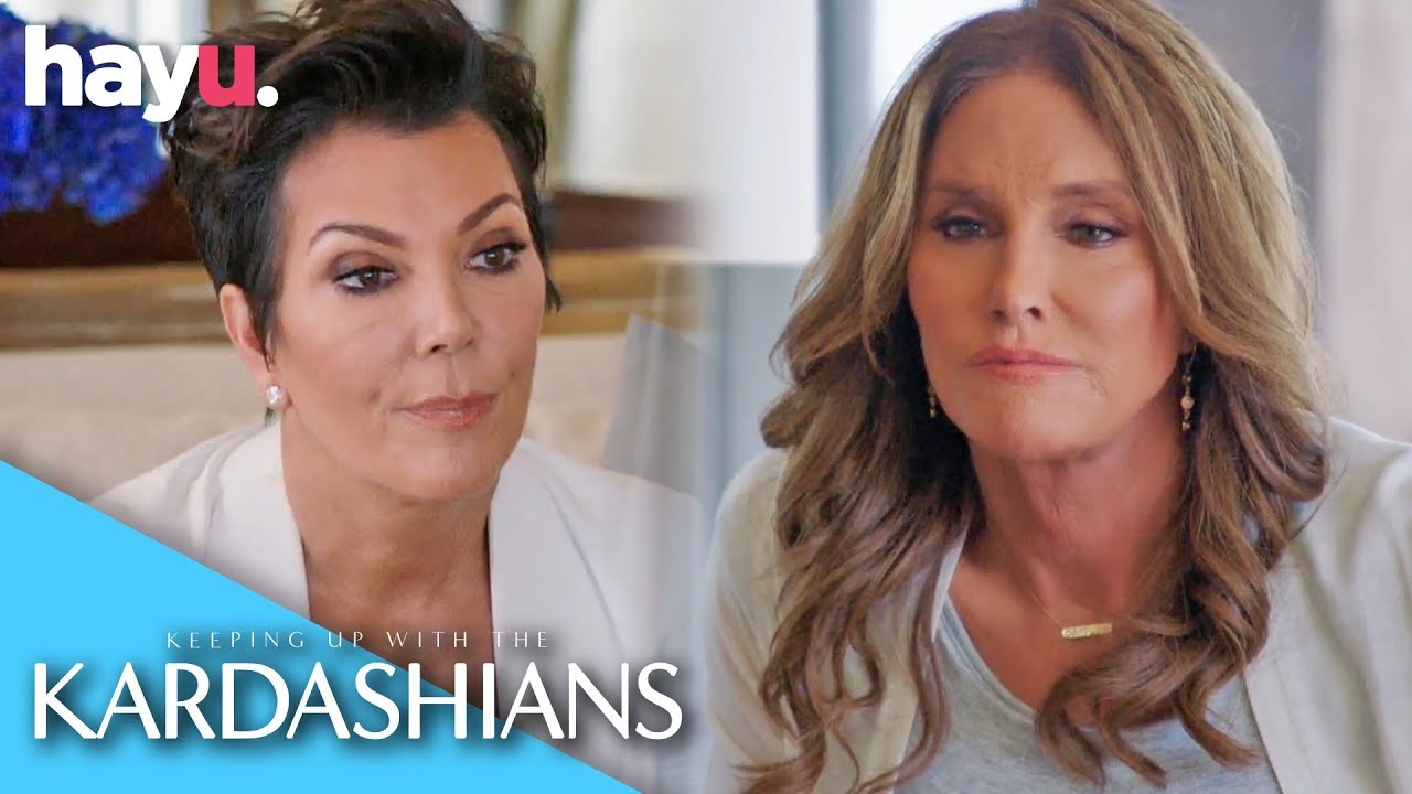 Kris Jenner Meets Caitlyn Jenner For The First Time   Keeping Up With The Kardashians