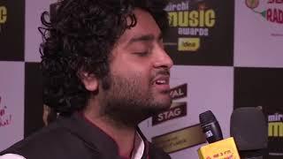Arijit Singh singing 'Tum Hi Ho' without music.
