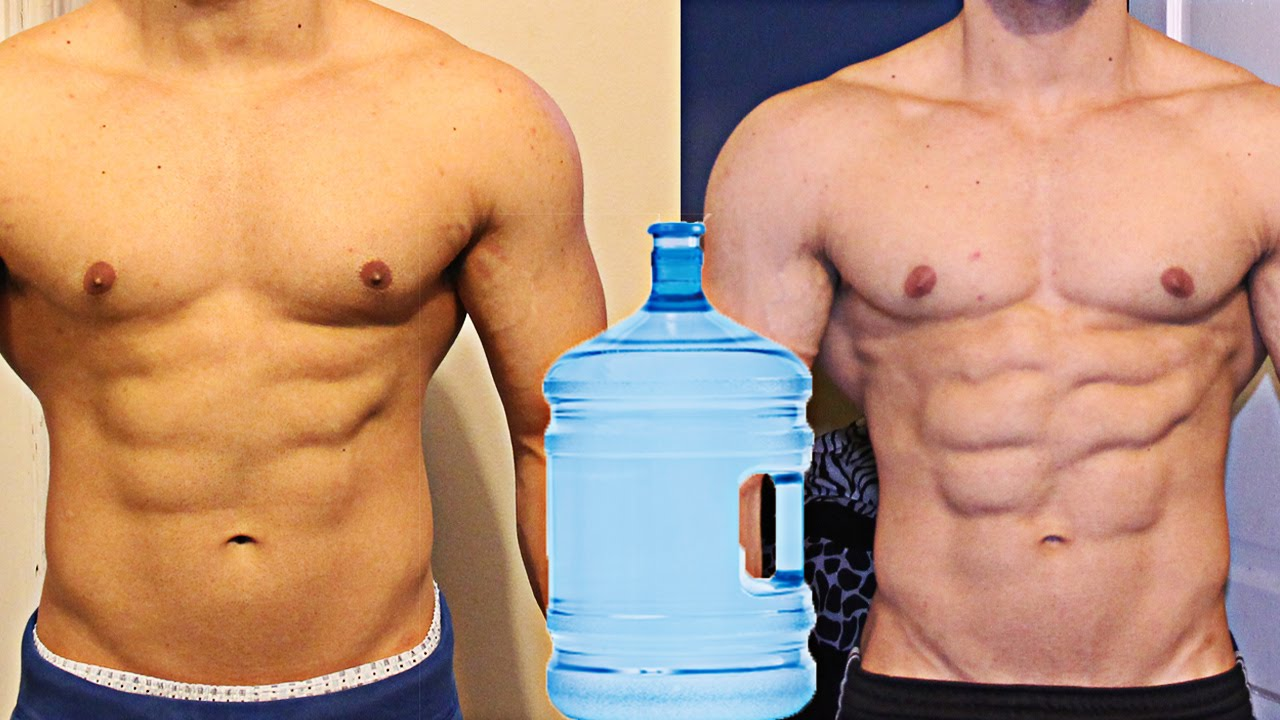 best way to lose water weight