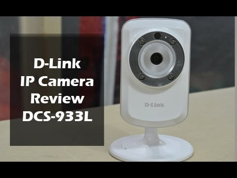 D-Link Wireless Indoor IP Camera (DCS-933L) Review - YouTube