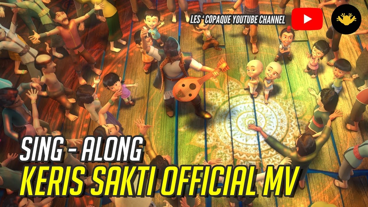 Download Upin & Ipin - Keris Sakti (Sing Along)