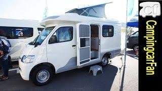 【エム・ホルーヴァ】ライトエースを使用しポップアップルーフを持つ多目的ライトキャブコンキャンピングカー Japanese motorhome campingcar thumbnail