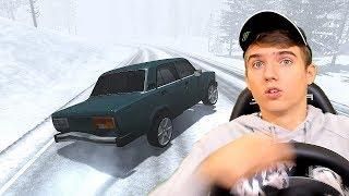 ЗИМНИЙ ДРИФТ НА СТОКЕ ВАЗ ! - BEAMNG DRIVE