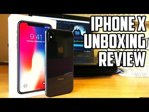 iPhone X Unboxing and Review + iPhone X vs. iPhone 8 Plus!