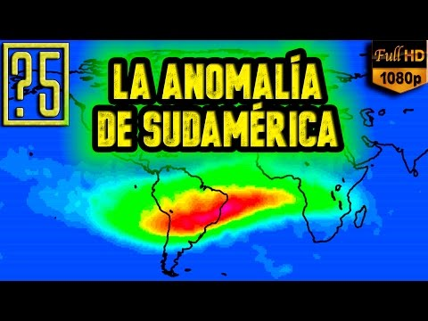 La anomalía de Sudamérica o Atlántico Sur