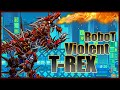 Robot Violent T-Rex - Android/PC - Game Play - 2016 - HD